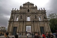 UNESCO World Heritage Site #24: Historic Center of Macau, China, a lucrative port of strategic importance in the development of international trade, was under Portuguese administration from the mid-16th century until 1999, when it came under Chinese sovereignty. New Macau is home to Vegas casinos while the old sections at the center of Macau is the featured facade of St Paul's Church with burned down in the 19th century