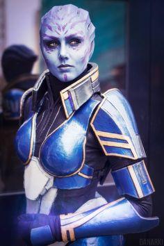RTFM-cosplayblog: Tela Vasir from Mass Effect 2: Lair of the Shadow Broker DLC Cosplayer: Karin Olava Effects [TW | FB | IN] Photographer: Danarki [WW | TW | FB | IN] (via knightcommanderr)