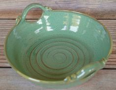 Pottery Baking Dish with Handles  Ceramic by MudFirePottery