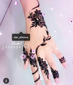 Henna hand tattoos Very Eid Mehndi Designs, Henna Designs Easy, Mehndi Designs For Fingers, Latest Mehndi Designs, Henna Tattoo Designs, Hand Tattoos, Bridal Nails Designs, Wedding Designs, Nail Designs