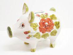 Terrific Italian Piggy Bank by MyPalPeppy on Etsy