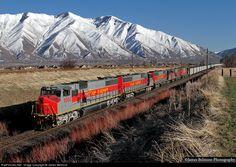 RailPictures.Net Photo: UR 5001 Utah Railway Company EMD/MK50-3 at Mapleton, Utah by James Belmont