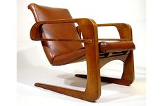 Art Deco Furniture | 1930s Art Deco Kem Weber Airline Chairs