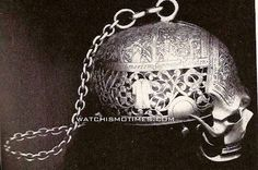 skull watch which belonged to Mary Queen of Scots