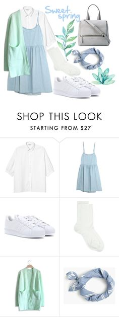 """Sweet spring"" by ainaza on Polyvore featuring мода, Monki, The Great, adidas, Maria La Rosa, Chicwish, J.Crew и Givenchy"