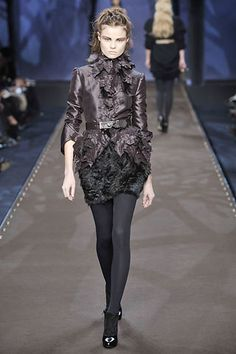 Fendi Fall 2008 Ready-to-Wear Fashion Show - Lara Stone