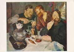 Genre Scenes with samovar. Collection / Set of 12 Vintage Prints, Postcards -- 1960s-1980s  Custom Set without cover 4x6x12 (postcard), has not been written on, good vintage condition