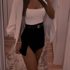 Cute Skirt Outfits, Cute Comfy Outfits, Teen Fashion Outfits, Mode Outfits, Cute Casual Outfits, Look Fashion, Stylish Outfits, Summer Outfits, Girl Outfits