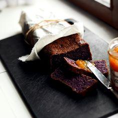 Aamupalalla: mustikkaleipä