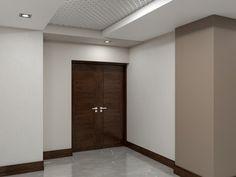 Public interior 3D rendering