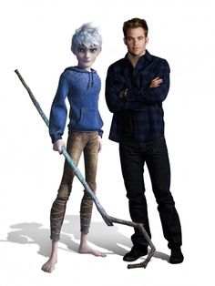 Rise of the Guardians - Jack Frost and his voice actor Chris Pine