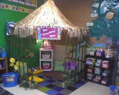 Macey's Third Grade Class! The reading hut is her favorite spot!