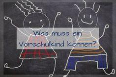 Was muss ein Vorschulkind können? Interview mit einer Schulleiterin über die Fähigkeiten und Kompetenzen, die mit denen es Kinder zum Schulanfang leichter haben: http://www.familienkost.de/artikel_was_muss_ein_vorschulkind_koennen.html