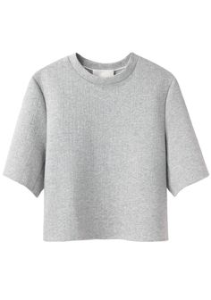 Phillip Lim Cropped Boxy T-Shirt Sporty Chic, Boxy Crop Top, Crop Tops, Phillip Lim, Half Sleeve Shirts, Half Sleeves, Vogue, Crop Shirt, Jersey Shirt