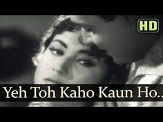 Yeh Toh Kaho Kaun Ho Tum - Meena Kumari - Rajendra Kumar - Akeli Mat Jaiyo - Old Hindi Song - YouTube