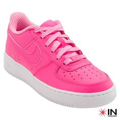 #Nike Air Force 1 GS Tamanhos: 35.5 a 38.5  #Sneakers mais informações: http://www.inmocion.net/Nike-Air-Force-1-GS-314219-285-pt?utm_source=pinterest&utm_medium=314219-285_Nike_p&utm_campaign=Nike