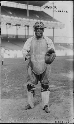 The early Tools of Ignorance  Encyclopedia of Baseball Catchers - Catcher Photo of the Month