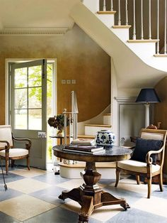 The Coach House by Roger Hall. Interior Stairs, Interior And Exterior, Interior Design, Stairs Architecture, Interior Architecture, Classic Architecture, Residential Architecture, Beautiful Interiors, Beautiful Homes