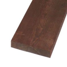 Pressure-Treated Lumber HF Brown Stain (Common: 2 in. x 12 in. x 8 ft.