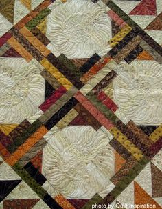 detail, Double Duty by George Magee, quilted by Mary Vaneecke.  The design is by Carrie Nelson at Miss Rosie's Quilt Company.  Photo by Quilt Inspiration.