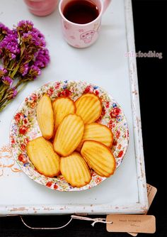 Maple Syrup madeleines