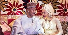 Money Speaks! See Moment Son of Billionaire, Ahmed Indimi Showered Wife Zahra Buhari with N1000 Notes at their Wedding (Watch Video)