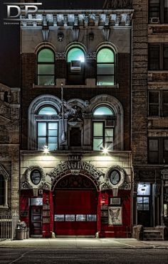 Fire Engine Company No. 55 in Little Italy, NY | Shared by LION
