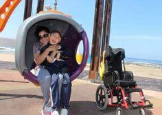Hagan caso: Niños con capacidades diferentes llaman a ariqueños a cuidar juegos inclusivos [FOTOS] | El Morrocotudo.cl , Noticias de Arica y Parinacota