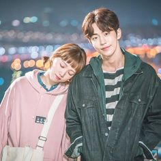 If Lee SungKyung is known as Korean Gigi Hadid, Does that make Nam Joo Hyuk Zayn Mallik ? But I think they should be known by themselves only . Joon Hyung Wallpaper, Nam Joo Hyuk Wallpaper, Weightlifting Fairy Wallpaper, Weightlifting Fairy Kim Bok Joo Wallpapers, Nam Joo Hyuk Lee Sung Kyung, Jong Hyuk, Korean Drama Movies, Korean Actors, Korean Dramas