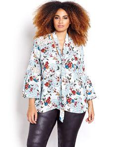 A plus size blouse t