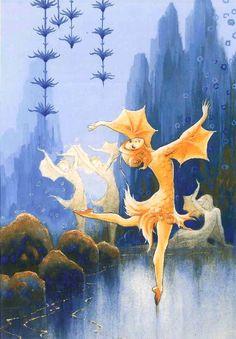 """Rudolf Koivu, """"The Goldfish"""", a fairy tale by Raul Roine"""