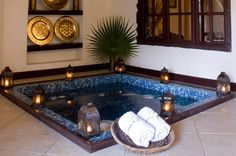 Relax in your private spa pool - The Palms, Zanzibar