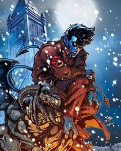 Nightcrawler in the Snow - Leonardo Paciarotti