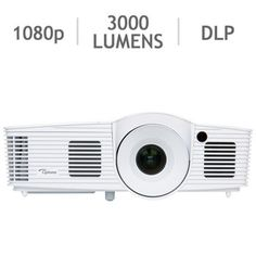 Optoma® HD28DSE 3D 1080p HD DLP® Home Theatre Projector with DarbeeVision™