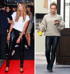 «Δεν ξέρω τι να φορέσω!»: 7 τρόποι να βγείτε απ' το αδιέξοδο με στιλ Leather Pants, Fashion, Leather Jogger Pants, Moda, Fashion Styles, Lederhosen, Leather Leggings, Fashion Illustrations