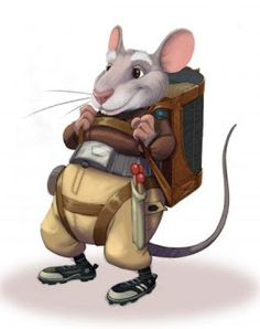 Neko Random: Fact of the Day: Spanish Tooth Fairy Rat