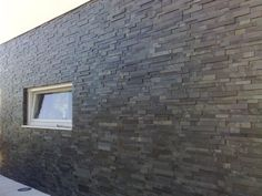Mrs Stone Store | Products | MO060 | Stepped Slate Wall Cladding Panel Brazilian Black Stone Facade, Stone Cladding, Wall Cladding Panels, Stone Store, River Cottage, Building Exterior, Home Projects, Modern Architecture, Slate