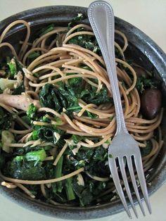 Broccoli di Rabe, Tuna and Whole-Wheat Pasta
