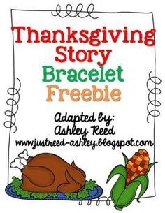 Thanksgiving Story Bracelet Freebie