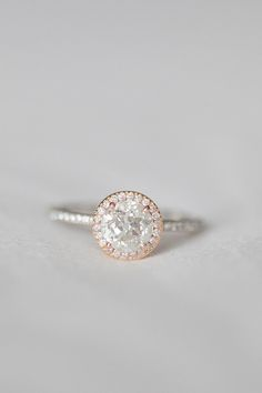 Rose and White Gold- perfection!
