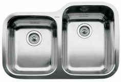 """View the Blanco 440235 Supreme 1-3/4 Basin Reverse Drop In Stainless Steel Kitchen Sink 31 5/16"""" x 20 7/8"""" at FaucetDirect.com."""