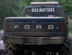 Size matters lol
