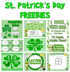 REALLY BIG List of 105+ St. Patrick's Day Freebies and Activities - In All You Do