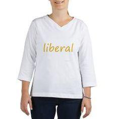 liberal 3/4 Sleeve T-shirt> liberal> humanism art