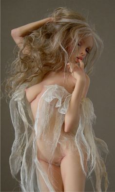 Fantasy art/sculpture by artist Nicole West