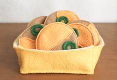 Felt Food  Nachos Play Food by BeesFeltMarket on Etsy, $10.00