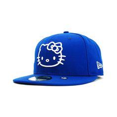 SANRIO x NEW ERA 「HELLO KITTY II」59Fifty Caps ❤ liked on Polyvore