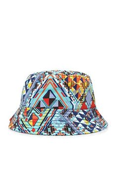 Abstract Print Bucket Hat  49a3355e4f16