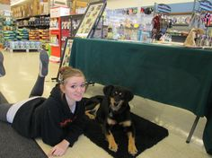 CeCe and Me at Pet World, Greenfield, Wisconsin