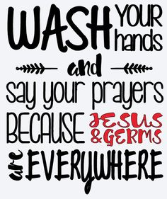 WASH YOUR HANDS  Vinyl Decal * Car Decal * Wall Decal * Window Decal * Coffee Mug * Yeti * Notebook * iPhone * Tumbler * Glitter * Pulitzer by ATIMETOCUT on Etsy